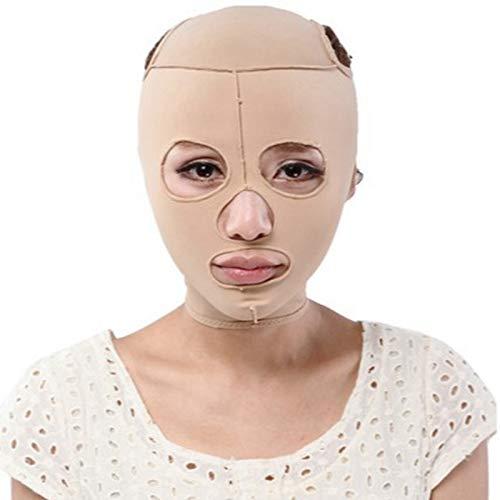 NBALL-TT Mascarilla de elevación de la Cara Vendaje Ajustado Facial V Face Cheek Lamiendo el cinturón de apriete para el Cuello y la Barbilla Levantamiento, antienvejecimiento,XL