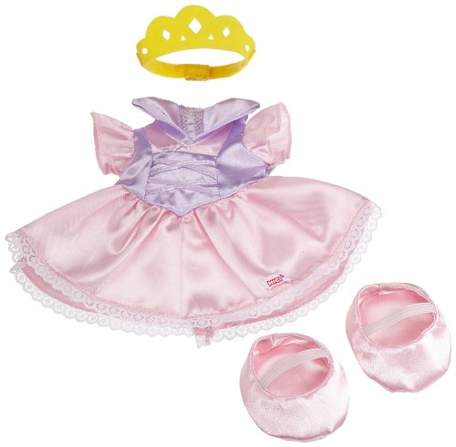 Nici 35784 - Dress your Friends, Outfit Set Prinzessin, für Puppen/Plüschtiere, 25 cm