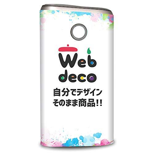 Web deco グロープロ用 スキンシール 自分で作ったオリジナルデザインが商品に 名入れ オーダーメイド,