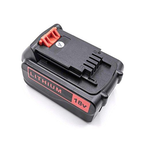vhbw Li-Ion batería 3000mAh (18V) para herramienta eléctrica powertools tools Black & Decker GXC1000L, HP186F4LK, HP188F4LK, MULTIEVO, STC1820