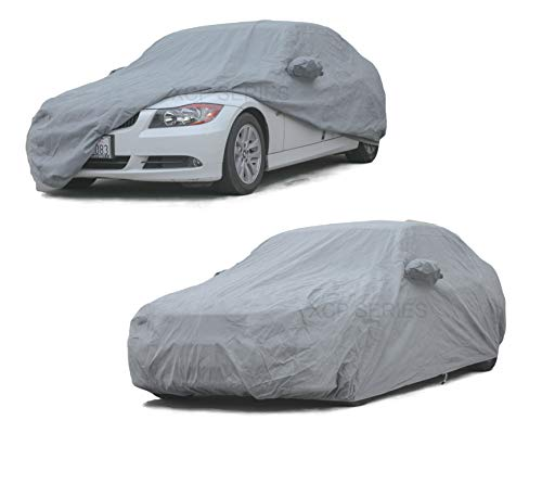 XtremeCoverPro 100% Breathable Car Cover for Select BMW 320i 328i 328D 335i 328i 335i 2014 2015 (Space Gray)