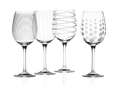 Mikasa Cheers Set mit 4 Kristall-Weißweingläsern, 450 ml (15 fl oz)