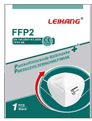 LEIKANG FFP2 Atemschutzmaske Mund- und Nasenschutz 1Box=20Stück