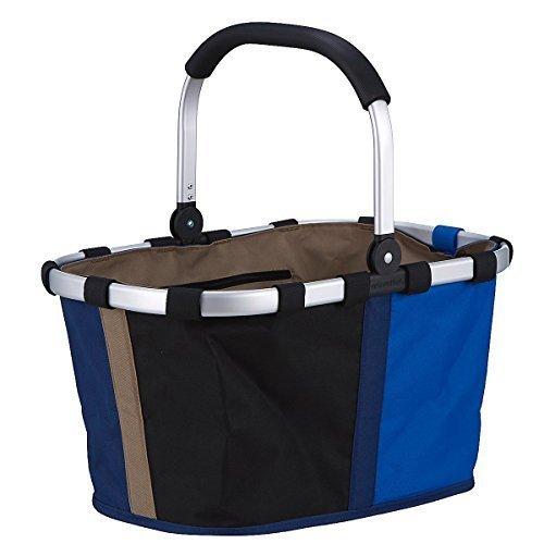 Reisenthel Carrybag, Shopping Bag, Basket for Shopping, Patchwork Royal Blue, BK4032 by Reisenthel