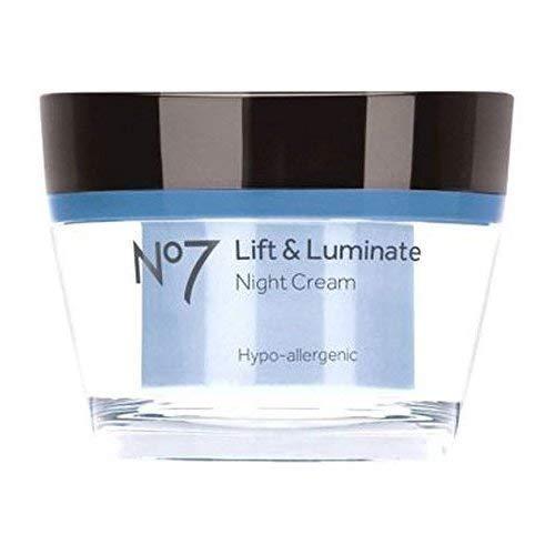 No 7 Lift and Luminate Night Cream 50ml Tub by No7