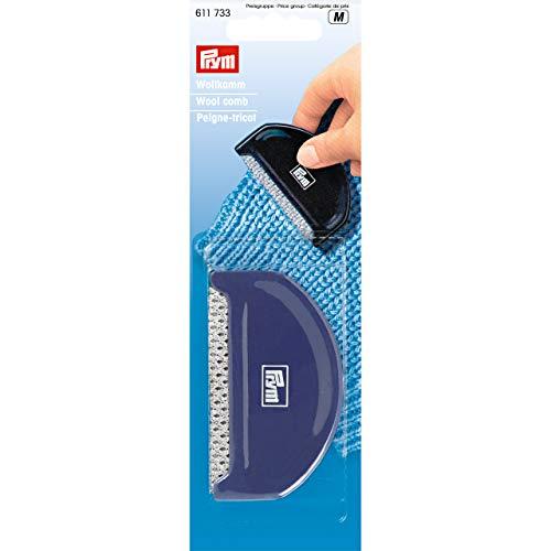 Prym 611733 Wollkamm aus Kunststoff, pflaumenblau