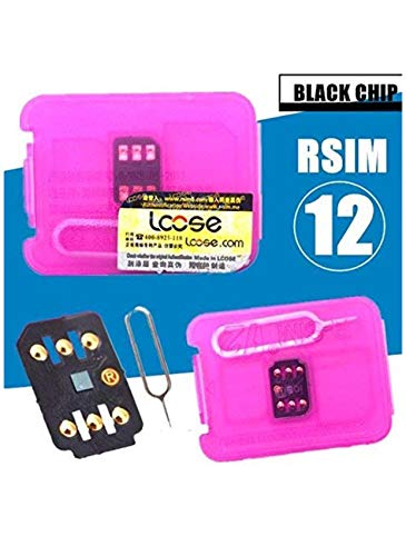 Generic RSIM 12 Easy Plug and Play for Unlocking All iOS Phones