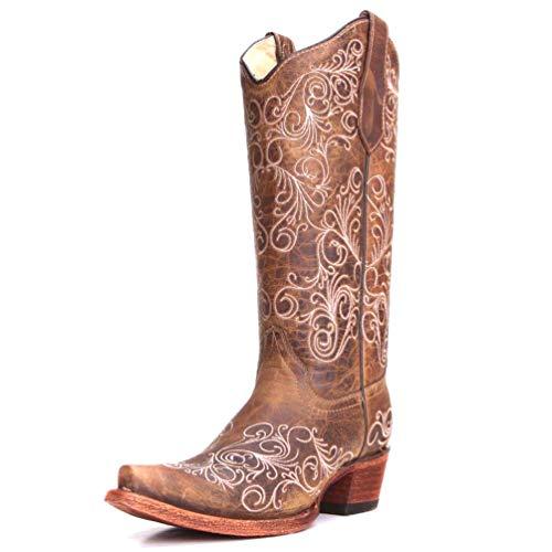 Corral Boots L5418 Tan 10