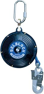 藤井電工 ツヨロン(TSUYORON) 墜落防止装置(仮設用) 昇降用 ベルブロック  BB-60-SN(引寄せロープ付)-JAN-BX [安全帯 落下防止 電気工事 高所での安全作業]