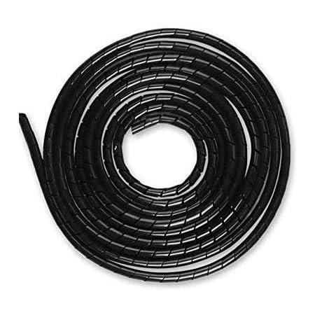 AUPROTEC 5 10 20 oder 50 m Isolierschlauch PVC Kabel Schutz Schlauch Auswahl: /Ø 4 mm innen, 20m Meter