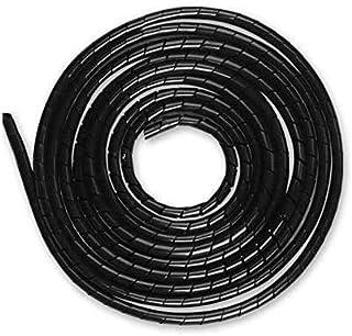 AGPTEK Kabelledning 4-50 mm (6 m), 6-60 mm (4 m), organiserare kabelkanal skydd, totalt 10 m, svart