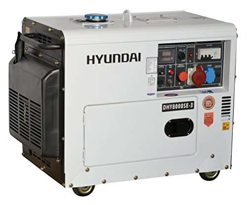 Generator Diesel Hyundai dhy8000se3