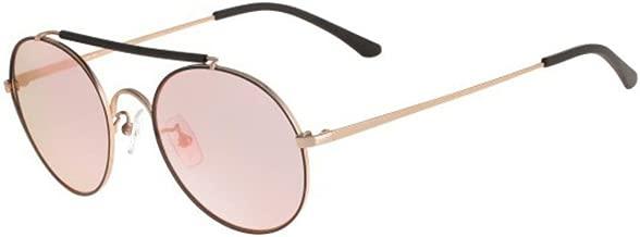 Sean John SJ859S 780 Rose Gold Round Sunglasses for Men