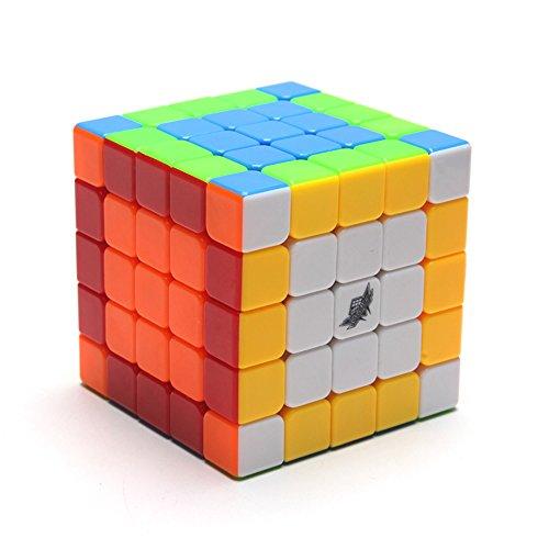 Cyclone Boys Cubo mágico de 6 Colores de EasyGame Cubo de Velocidad de Rompecabezas 5X5