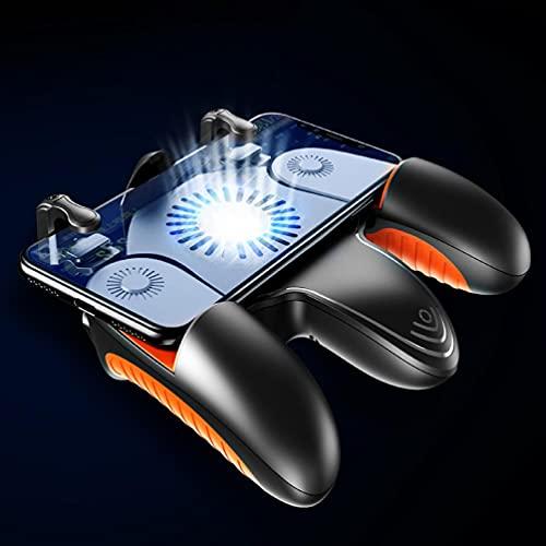 Incdnn Design ergonomique Gaming Grip Manette mobile avec ventilateur silencieux Design ergonomique Gaming Grip