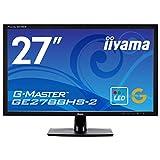 iiyama G-MASTER Black Hawk GE2788HS-B2 68,6cm (27 Zoll) LED-Monitor Full-HD (VGA, DVI-D, HDMI, 1ms Reaktionszeit, FreeSync) schwarz