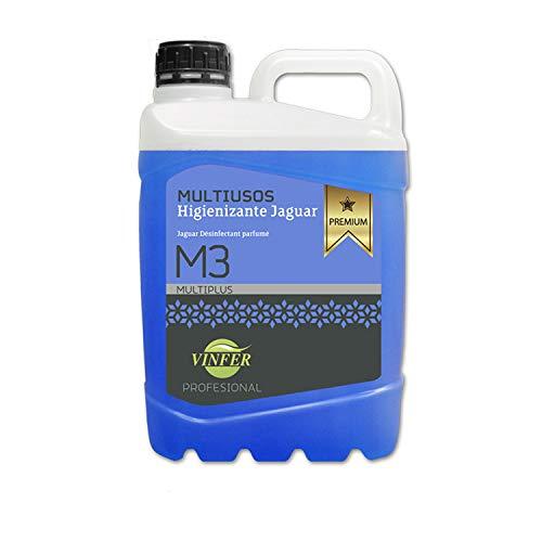 Laboratorios vinfer SA Limpiador Multiusos Higienizante-desodorizante Jaguar 5 litros - Olor Pino mentolado