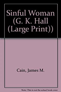 Paperback Sinful Woman [Large Print] Book