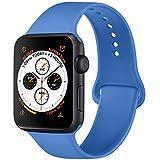 ATUP Armband Kompatibel für Watch Armband 38mm 42mm 40mm 44mm, Weich Silik on Ersatz Armband für...