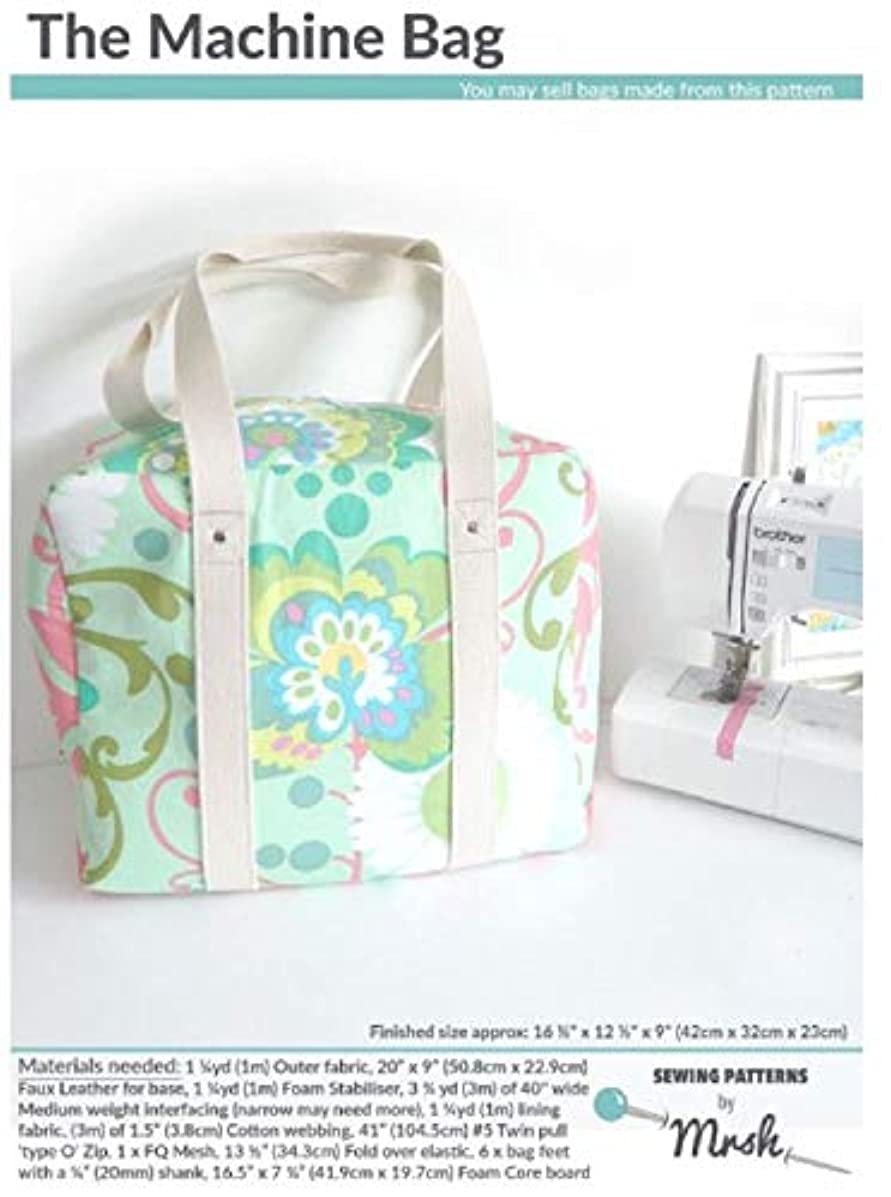 Sewing Patterns by Mrs H MH Machine Bag Sewing Pattern