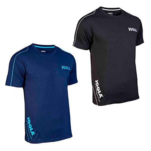 JOOLA T-Shirt Competition, schwarz/weiß, S