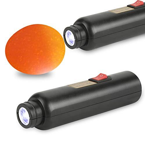 Zunate Incubatrice Lampada Uovo Sperauova LED, Candler all\'uovo, Lampada ad Alta intensità per l\'illuminazione a Uovo - Tester Luminoso per Candele a Uovo con LED Luminoso per Tutti i Tipi di Uova