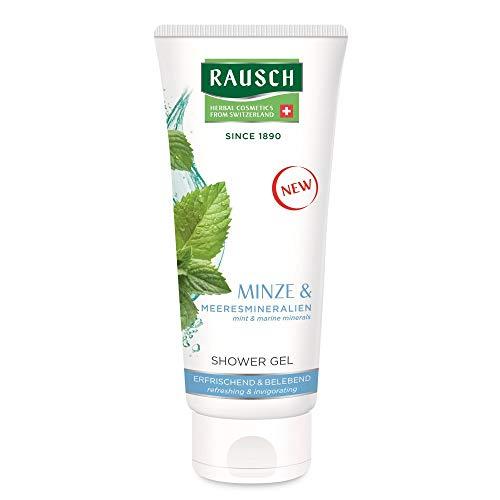 Rausch Minze SHOWER GEL reinigt mild, wirkt antibakteriell und spendet Feuchtigkeit, 1er Pack(1 x 200 milliliters)