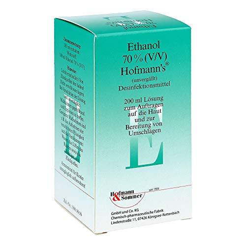 Ethanol 70% V/V Hofmanns, 200 ml