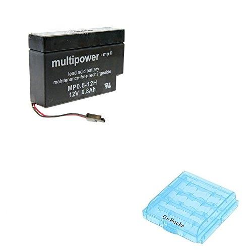 Accu voor rolluiken rolluiken Rollomatic DFR 2000 Nr. 1 Solar thuis & huis Accu + accu/batterijbox voor 4x Micro/Mignon (AAA/AA) cellen batterijen
