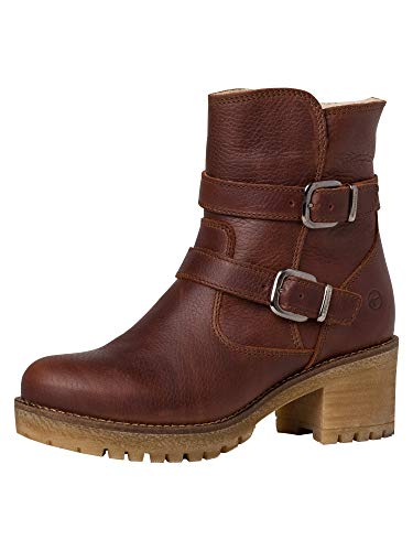 Tamaris Damskie buty 1-1-26483-25 botki, koniak - 41 EU