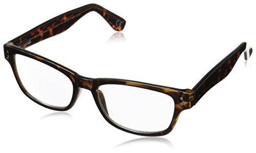 Foster Grant Conan Multifocus Glasses, Tortoise, 1.5