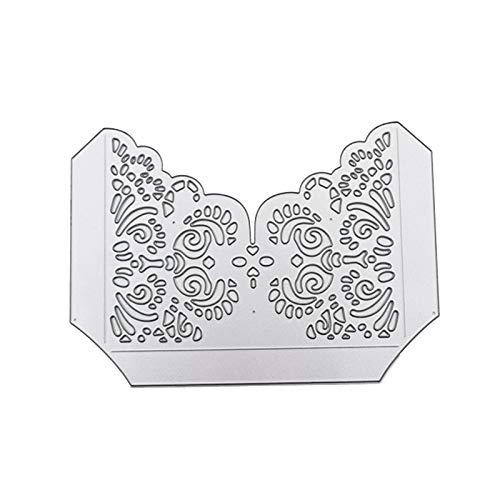 WEDFTGF Oster-Geschenke, Ornament, Oster-Ausstechformen, 1 Stück, 3D-Metallschablone für DIY Handwerk Scrapbooking, Kartenherstellung