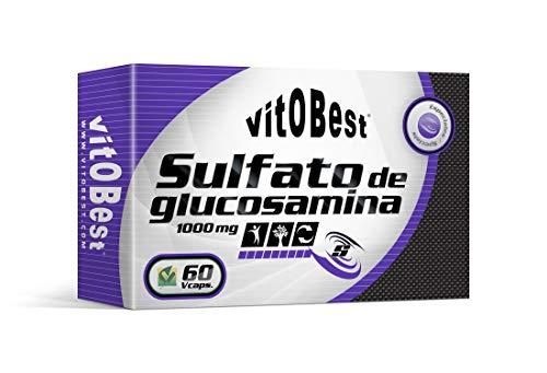 SULFATO DE GLUCOSAMINA 1000 mg - 60 Caps. - Suplementos Alimentación y Suplementos Deportivos - Vitobest