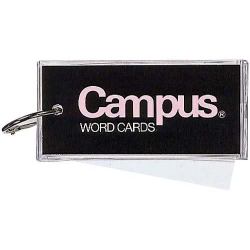 コクヨ 単語カード(カバー付き表紙)大長60枚×40