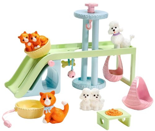 Learning Curve Courbe d'apprentissage Caring Coins pour Animal Domestique Playground Lot d'accessoires