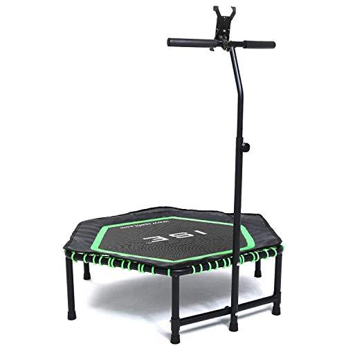 ISE SY-1105 994810 - Tappeto Elastico da Fitness per Adulti, Unisex, Colore: Verde