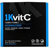1Kvit-C ビタミンC ハイドレーション 発泡性ドリンクミックス 天然オレンジ風味 1 000mg 30袋 各6 20g 0 22オンス