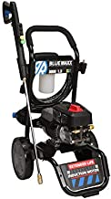 AR Blue Clean Maxx3000, Induction Motor 3000 PSI Electric Pressure Washer, 1.3 GPM with Cart, Power car wash, Driveway, Fence, Deck, ATV, Boat, Wash Wash