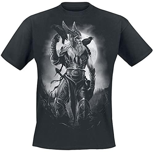 Toxic Angel Odin Männer T-Shirt schwarz XXL 100% Baumwolle Wikinger