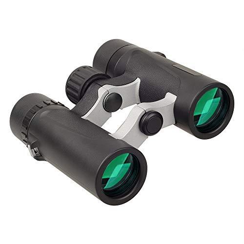 Télescope Jumelles Étanches 8x25 HD BAK4 Prisme Télescope Zoom Coupe du Monde en Plein Air Observation des Oiseaux Camping Randonnée Sports