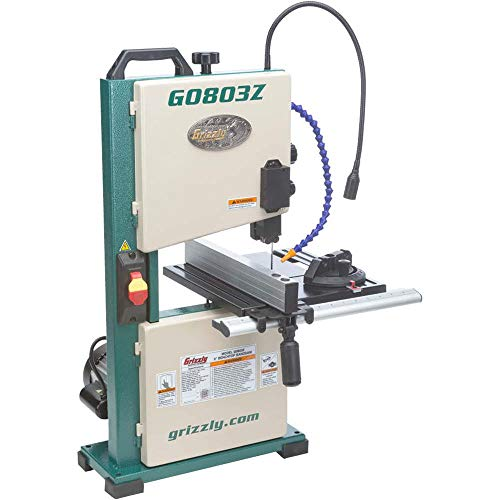 Grizzly Industrial G0803Z - 9' Benchtop Bandsaw with Laser Guide