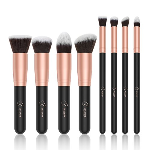 Bestope Makeup Brushes Set Of 8, 8count