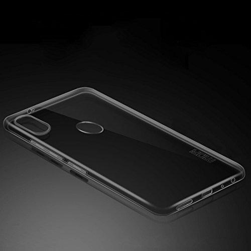 SANHENGMIAO COVER per Il Telefono Cellulare Xiaomi per Xiaomi Redmi Note 5 PRO TPU Indulgente Custodia Protettiva per palancole (Taglia : Xim2818bw)