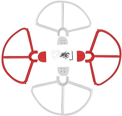 Accessori per droni 4 pezzi Protezione dell'elica a sgancio rapido/Compatibile con Dji/Compatibile con Phantom 3 Stardard/Professional/Advanced Se Drone Blade Paraurti Props Parti di protezione