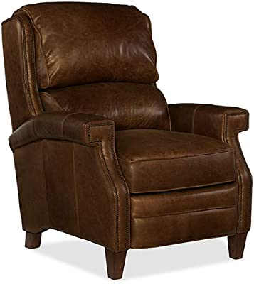 Amazon.com: FDW Wingback Recliner Chair Leather Single ...