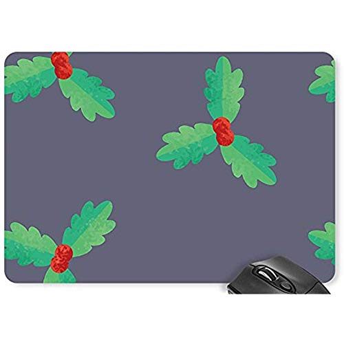 Mausepad Weihnachten Schneeflocken Grenzen Kreise Strahlen Mauspad Spiel D0725233 Spielmatte Computer Zubehör Mauspad Mousepad 25X30Cm