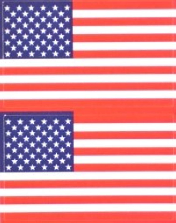 祭り配送高度星条旗(米国旗?アメリカ)★フェイスシール【応援(サポーター)】/1シート2枚組