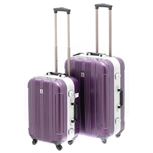 1 Valise Cadenas TSA DAVIDT'S Brooklin Violet 66 cm
