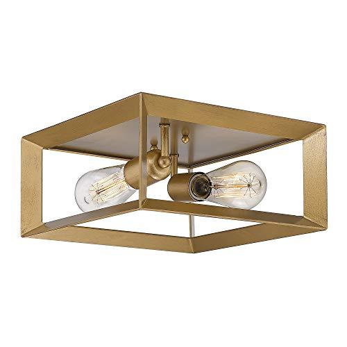 Emliviar 2-Light Flush Mount Light, 12