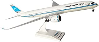 SKR883 Skymarks Kuwait Airways A350-900 1:200 W:Gear Model Airplane